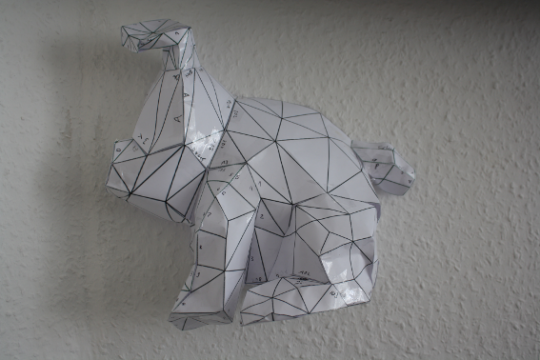 Papiermodell