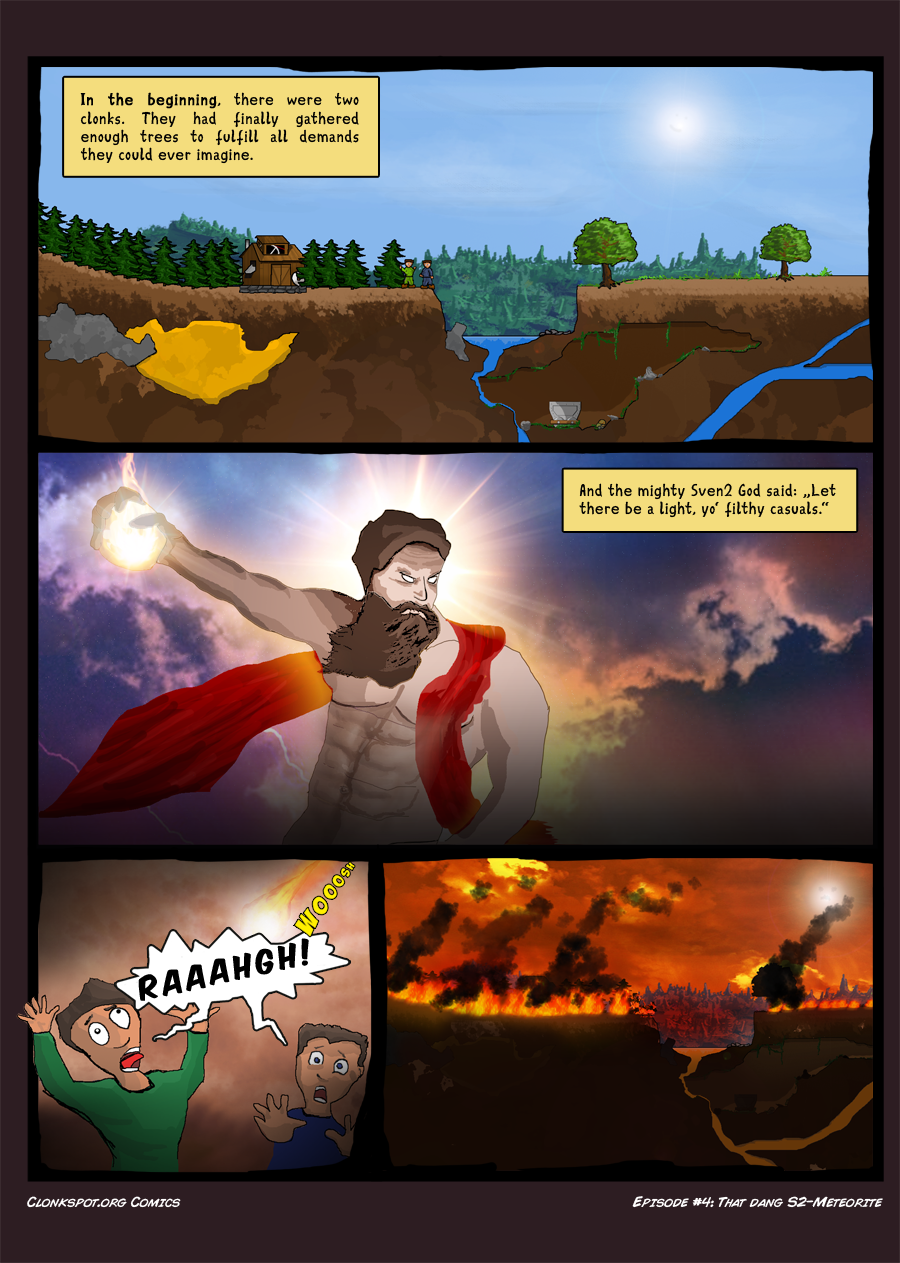 Comic #4: That dang S2-Meteorite